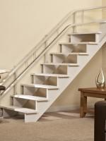 Treppenlift gebraucht :: maßangefertigte Fahrschiene