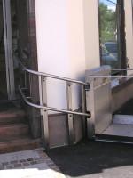Plattformlift :: Edelstahl
